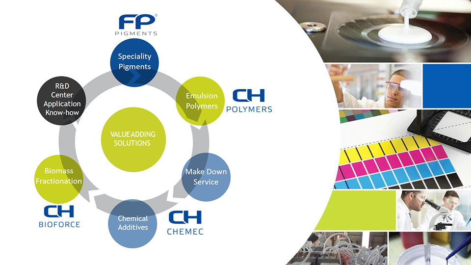 FP-Pigments in Co-operation